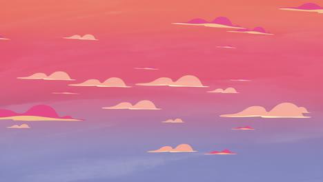 Fondo-De-Animación-De-Dibujos-Animados-Con-Nubes-De-Movimiento-6