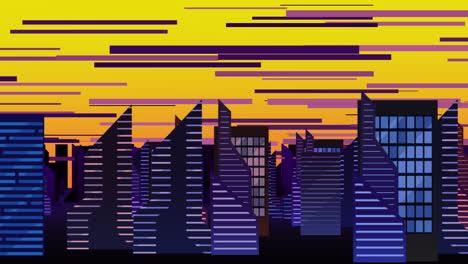 Fondo-De-Animación-De-Dibujos-Animados-Con-Nubes-De-Movimiento-Y-Edificios-10