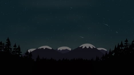 Cartoon-animation-background-with-forest-and-mountain-4