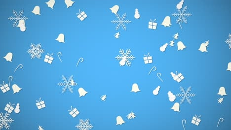 Happy-New-Year-and-Merry-Christmas-with-bells-and-snowflakes-1