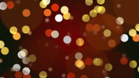 White-snowflakes-and-stars-and-abstract-bokeh-particle-5