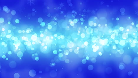 Blue-bokeh-and-snowflakes-falling-with-Happy-New-Year-and-Merry-Christmas-1