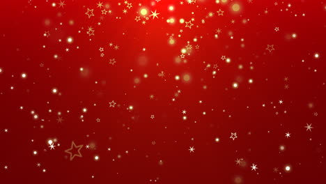 Blue-bokeh-and-snowflakes-falling-with-Happy-New-Year-and-Merry-Christmas-3