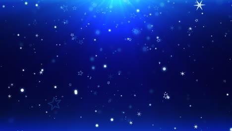 Bokeh-Azul-Y-Copos-De-Nieve-Cayendo-Con-Feliz-Año-Nuevo-Y-Feliz-Navidad-4