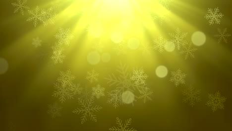 Copos-De-Nieve-Blancos-Y-Estrellas-Y-Partículas-Abstractas-Bokeh-8
