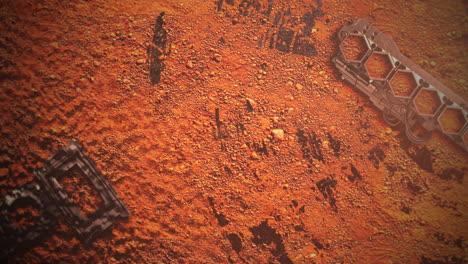 Fondo-Cinematográfico-Con-Formas-En-El-Planeta-Marte-Y-Cámara-De-Movimiento-