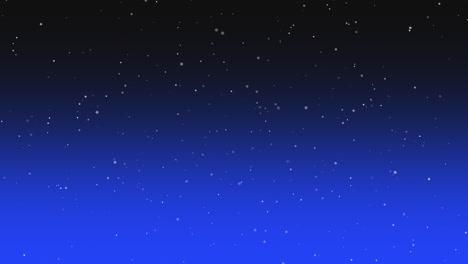 Partículas-De-Movimiento-En-Galaxia-Con-Fondo-Abstracto