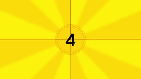 Cuenta-Regresiva-De-Película-Digital-Amarilla-En-Movimiento-En-Estilo-Moderno