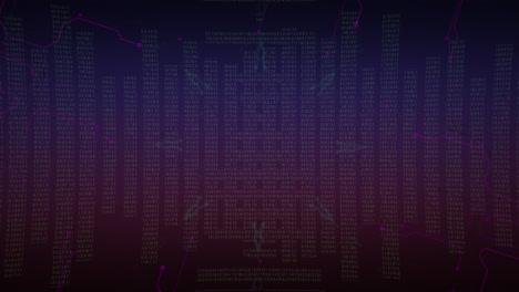 Animación-Cyberpunk-Con-Matriz-De-Computadora-Y-Cuadrícula-2