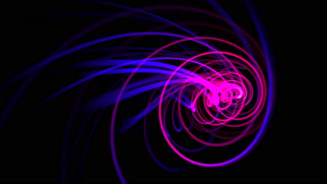 Motion-purple-and-blue-lines-with-abstract-background-6