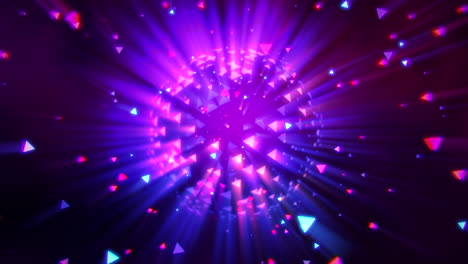 Motion-colorful-disco-ball-1