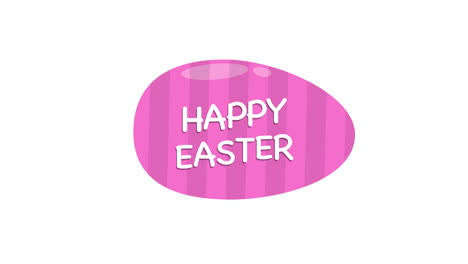 Happy-Easter-text-and-egg-on-white-background-2