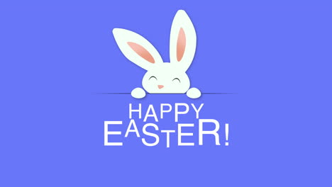 Happy-Easter-text-and-rabbit-on-blue-background-1