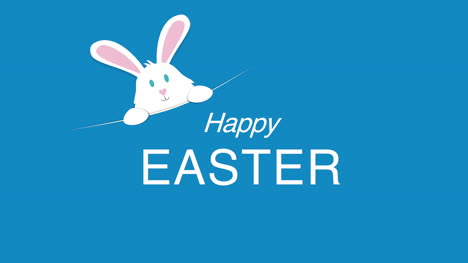 Happy-Easter-text-and-rabbit-on-blue-background-4