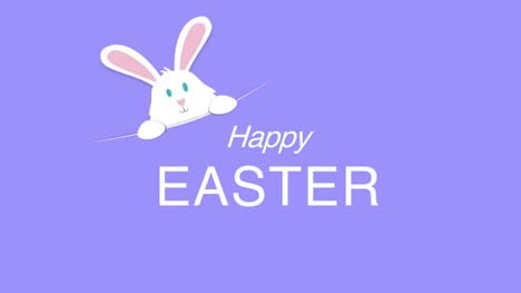 Happy-Easter-text-and-rabbit-on-purple-background-4