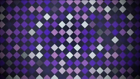 Bewegung-Bunte-Quadrate-Muster