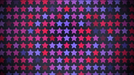 Motion-colorful-stars-pattern