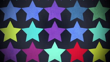 Motion-colorful-stars-pattern-4