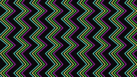 Motion-retro-zig-zag-on-abstract-background