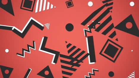 Motion-Retro-Geometric-Shape-on-abstract-background-1