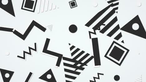 Movimiento-Retro-Forma-Geométrica-Sobre-Fondo-Abstracto-2