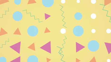 Motion-retro-geometric-shape-on-abstract-background-10