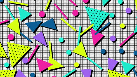 Motion-retro-geometric-shape-on-abstract-background-17