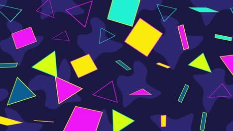 Motion-retro-geometric-shape-on-abstract-background-18