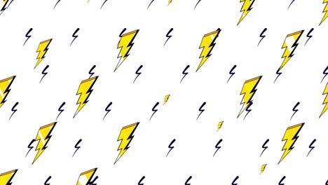 Motion-retro-thunderbolt-on-abstract-background-1