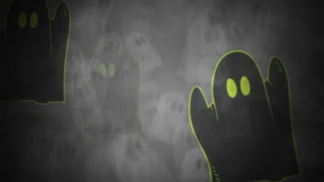 Halloween-background-animation-with-the-ghosts