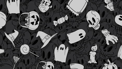 Halloween-background-animation-with-pumpkins
