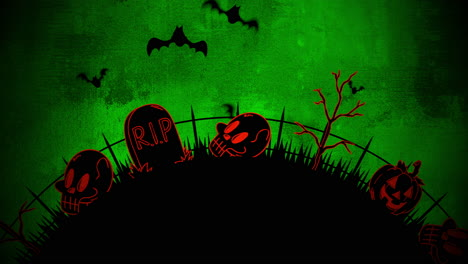 Halloween-background-animation-with-coffins