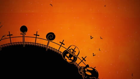 Halloween-background-animation-with-coffins-3