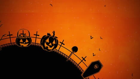 Halloween-background-animation-with-coffins-4