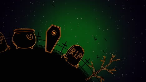 Halloween-background-animation-with-coffins-6