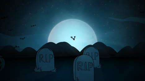 Halloween-background-animation-with-coffins-8