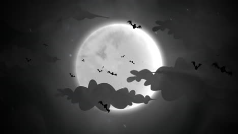 Halloween-background-animation-with-bats-and-moon-2
