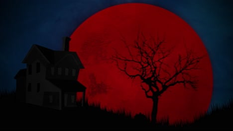 Halloween-background-animation-with-house-and-moon-1