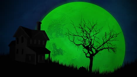 Halloween-background-animation-with-house-and-moon-2