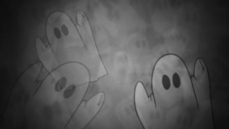 Halloween-background-animation-with-ghosts