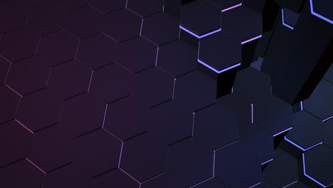 Motion-dark-black-hex-grid-background-3