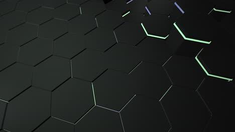 Motion-dark-black-hex-grid-background-5