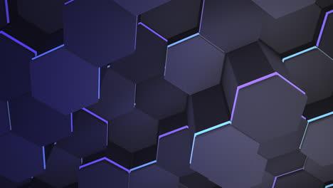 Motion-dark-blue-hex-grid-background