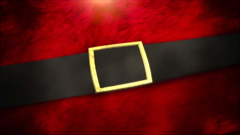 Animated-close-up-red-Santa-Claus-belt