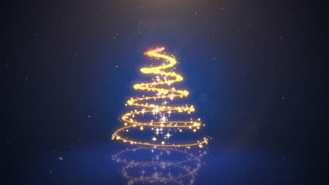 Animated-closeup-Christmas-tree-on-dark-blue-background-5