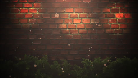 Animated-closeup-abstract-bokeh-and-Christmas-green-tree-branches-3