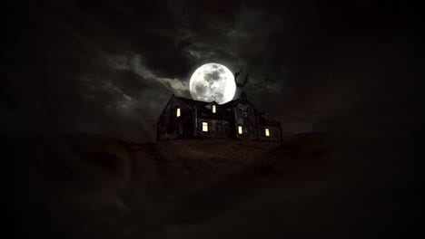 Mystical-horror-background-with-the-house-and-moon-1