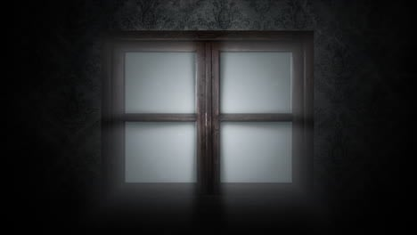 Mystical-horror-background-with-closed-window