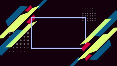 Movimiento-De-Formas-Geométricas-Abstractas-Y-Colores-De-Fondo