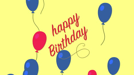 Animated-closeup-Happy-Birthday-text-on-holiday-background-2